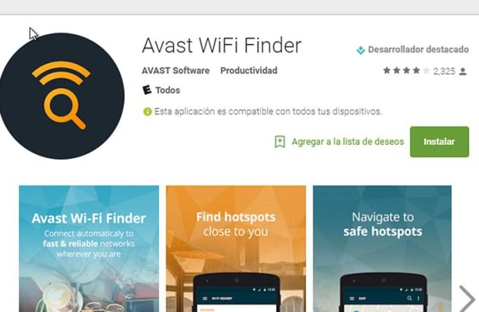 Avast presentó la app Wi-Fi Finder