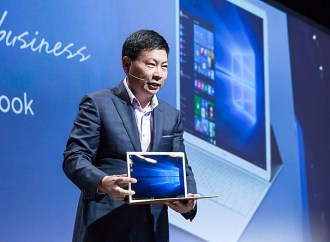 Huawei presentó el MateBook en el Mobile World Congress