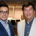 Rodrigo Villablanca y Humberto Parraguirre
