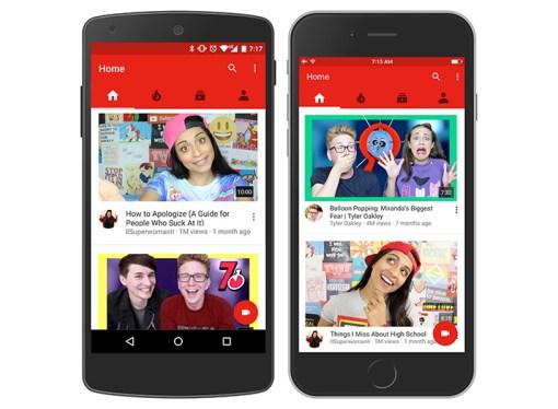 YouTube incorpora un nuevo diseño y anuncios de 6 segundos