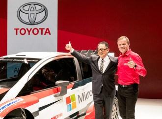 Toyota y Microsoft unen fuerzas en el World Rally Championship