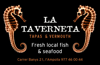 Seafood Tapas Restaurant in l'Ampolla