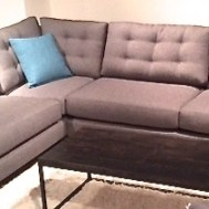 "Hunter 3 piece sectional 94""x94"" $2995"
