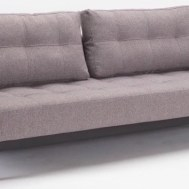 IDUN full XL sofa bed wood legs grey fabric. Floor model $1999 Reg. $2495