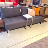 Supremax queen sleeper/sofa  dark brown begum Floor model $1729