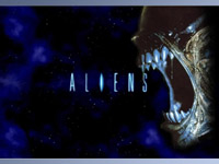 Aliens - the movie poster