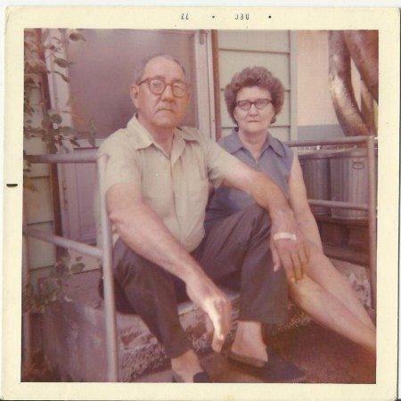 Evelyn Dorth's Great Grandparents Flotie Drake Douglas and Jake Douglas memory