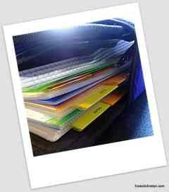binder control journal household organization