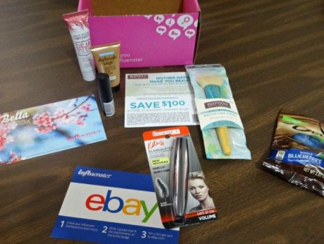 Contents of #BellaVoxBox EclecticEvelyn.com