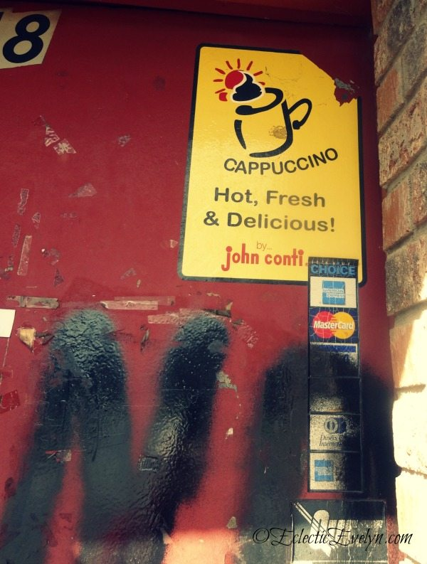 No Cappuccino Today #WordlessWednesday EclecticEvelyn.com