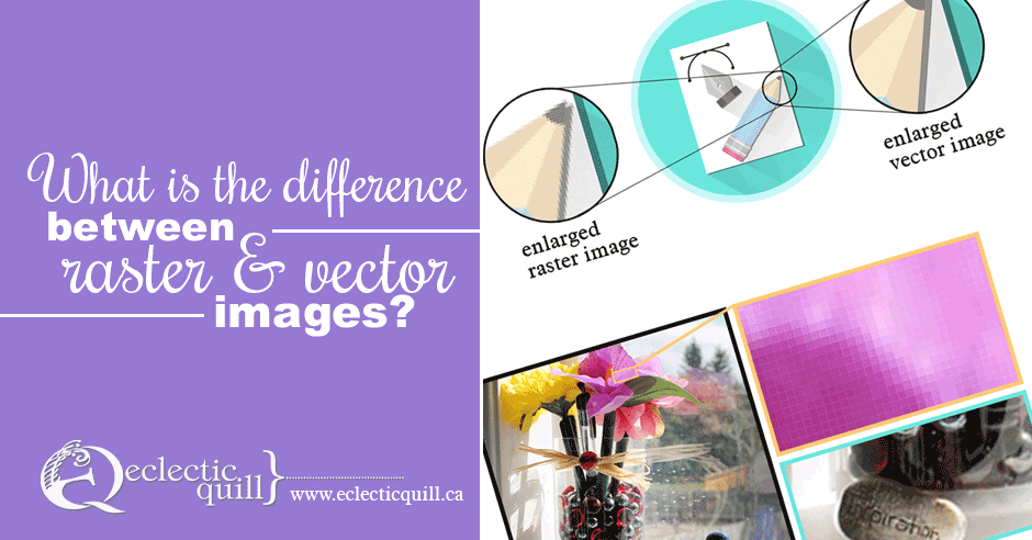 What is the difference between raster and vector images?