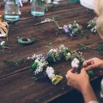 Barcelona Style: a flower crown workshop