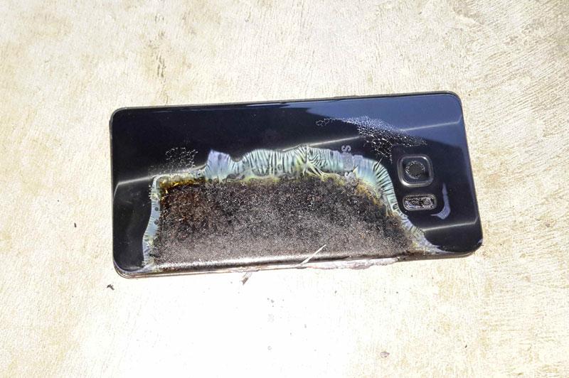 Samsung Galaxy Note 7 y las explosiones espontáneas