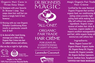 lavender haircream