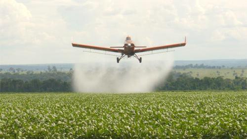 agratóxico, pulverização aérea