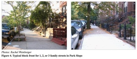 Incentive parking and driving Park Slope