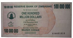 100 million dollar note after operation Sunris...