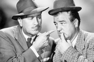 Unemployed vs. Out of Work from Abbott & Costello's World