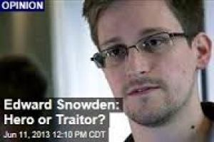 Edward Snowden — Some Thoughts
