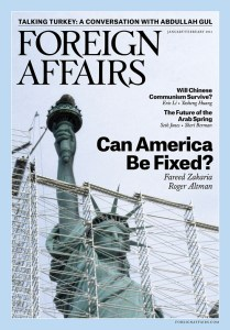 Foreign Affairs Jan-Feb 2013