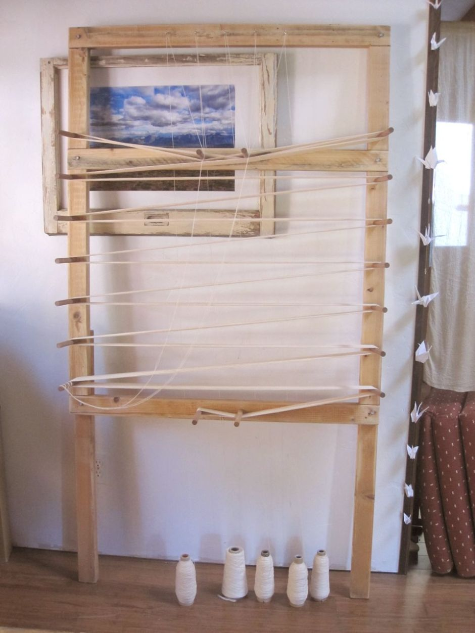 Winding the warp--Sally Fox's organic, Capay Valley-grown cotton