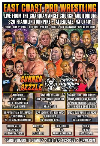 ECPW Allendale NJ 7-8-2016