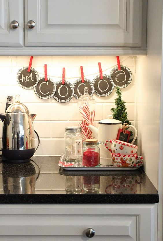 46 Best Christmas Kitchen Decorating Ideas Ecstasycoffee