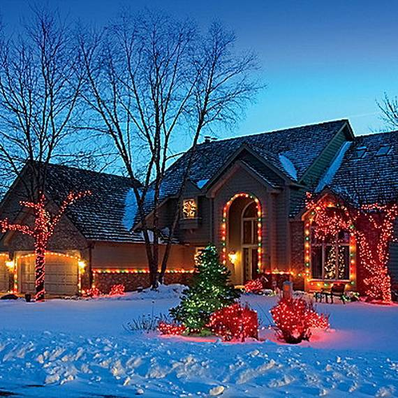 52 Spectacular Diy Christmas Decorations You Must Try This: 50 Amazing Outdoor Christmas Decorations Ideas