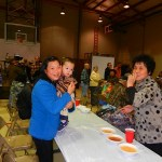 Many different ethnic faces were seen in the crowd as an international delegation from Augusta came to enjoy the 11th annual Wild Game Supper.