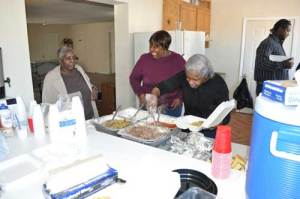 Once again, tempting dishes of African American influence were prepared for the guests on Saturday.