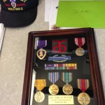 Mr. Butler's military honors and awards