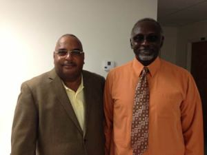 Joe Moseley and Mack Thomas, board members