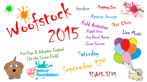 Woofstock 2015 Flyer Extra Info