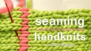Seaming Handknits