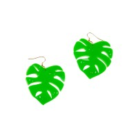 Hot House Leaves Earrings