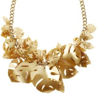 Hot House Leaves Necklace 1