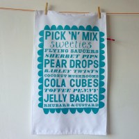 Pick and Mix Teatowel
