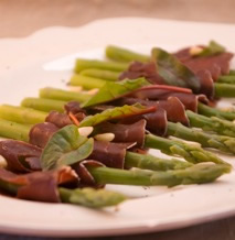 Great Glen, Asparagus and Venison