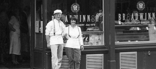 Breadwinner Bakery in 1973