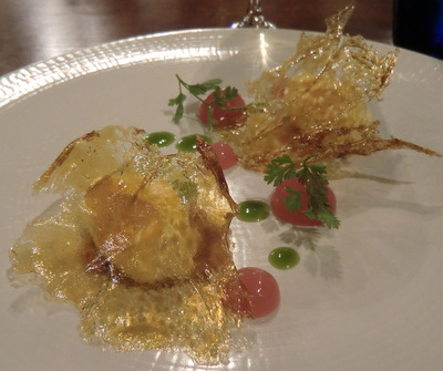 A sweet finish at l'Enclume