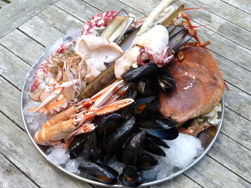 The perfect seafood platter