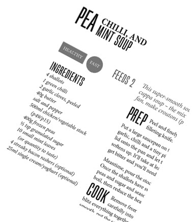 Sam Stern's Pea Soup Recipe