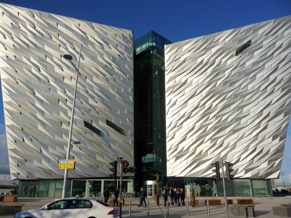 The Titanic at Belfast