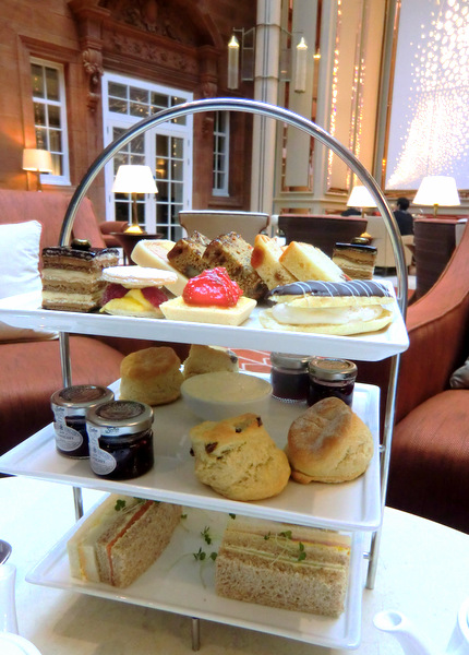 Afternoon tea in all its glory
