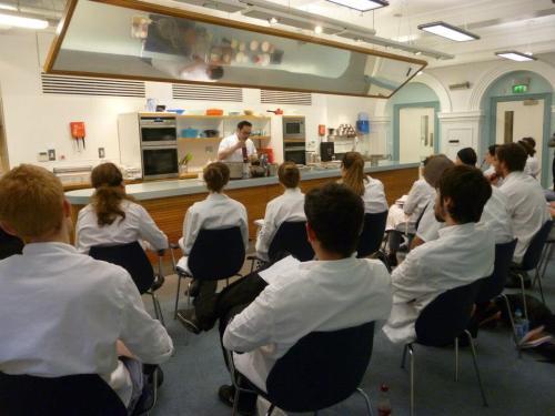 Chef Mattia of Hotel Missoni at Edinburgh New Town Cookery School