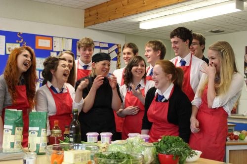 Linlithgow Academy Students
