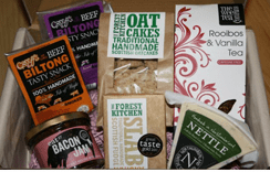 Flavourly.com artisan food box Box
