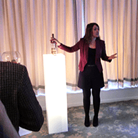 Talking us through the new expressions: The Macallan's talented taster