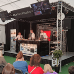 Sunshine and gin – a day out at the Foodies Festival, Edinburgh