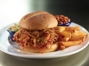 Hard Rock Cafe The Texan: Pulled pork